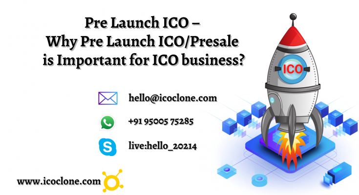 Pre Launch ICO – Why Pre Launch ICO_Presale is Important for ICO business