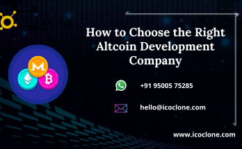 How to Choose the Right Altcoin Development Company - Icoclone