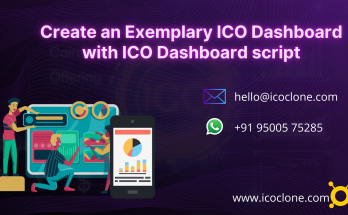 Create an Exemplary ICO Dashboard with ICO Dashboard script