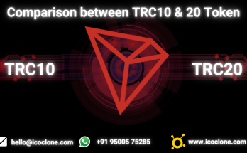 Comparison between TRC10 & 20 Token